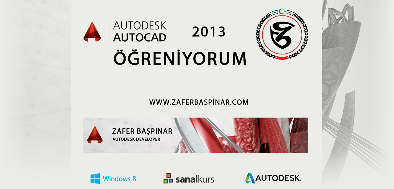 AutoCAD 2013 Temel Eğitimi