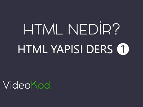 HTML'ye Başlangıç Rehberi