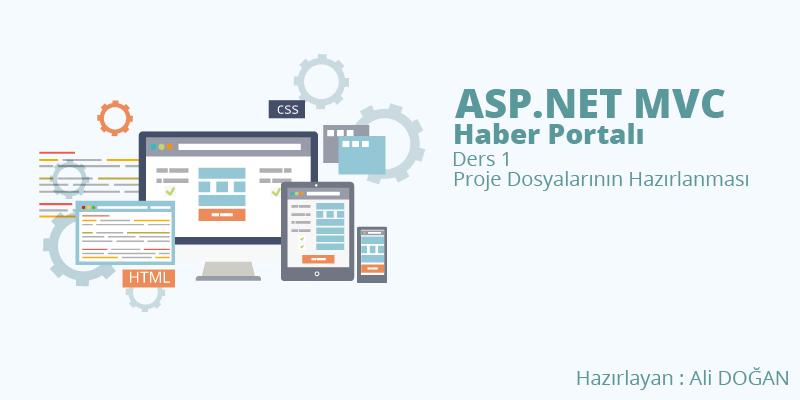Asp.NET MVC Haber Portalı Dersleri