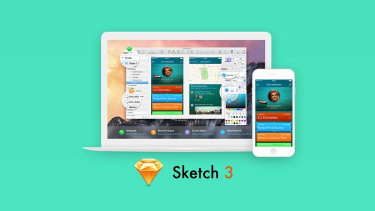 Sketch Mobil Uygulama ve Web Tasarım Eğitim Seti