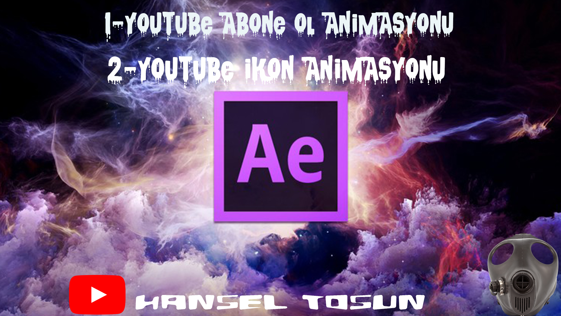 After Effect CC Eğitim Seti-Youtube Abone Ol Animasyonu