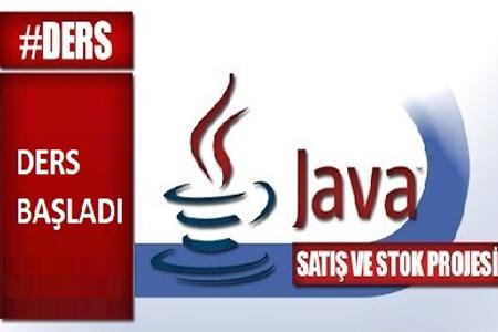 Java ile satış ve stok projesi