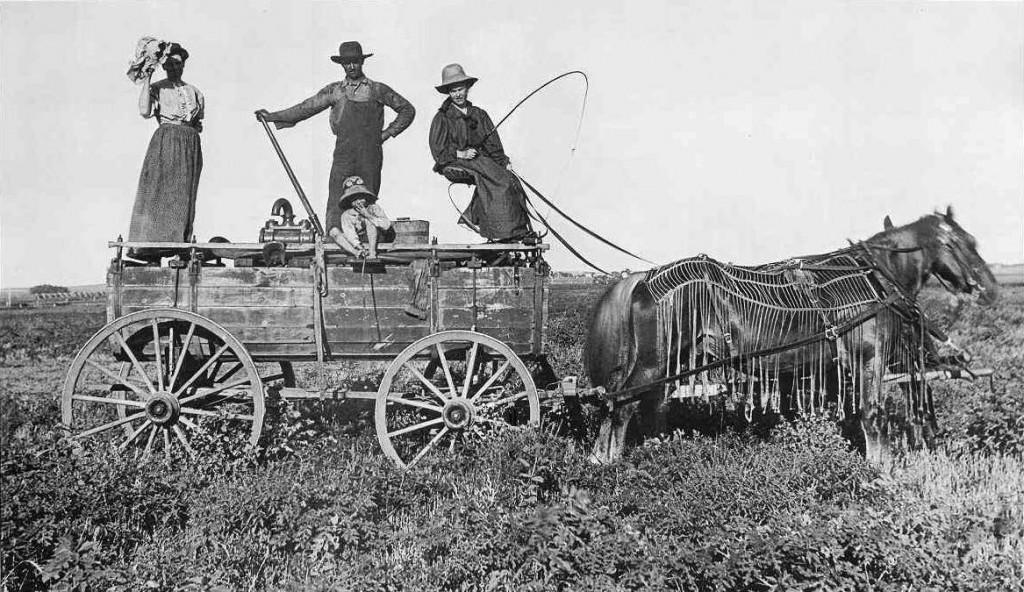 1900 yılında Kansas Su Vagonu