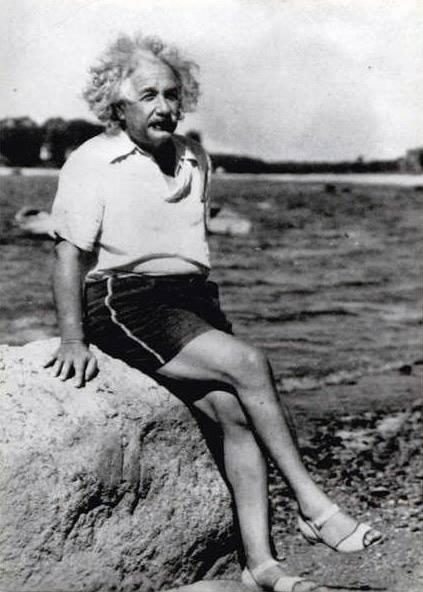 Albert Einstein Sahilde