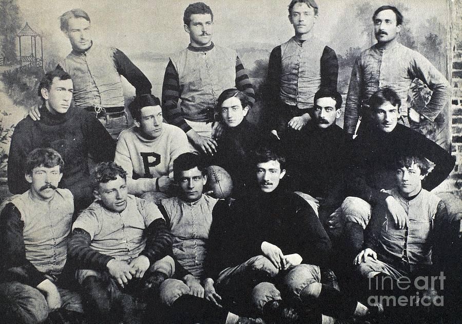 1890 yılında bir futbol takımı
