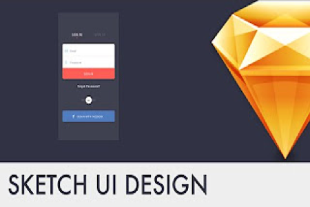 Sketch 3 - Login UI Design