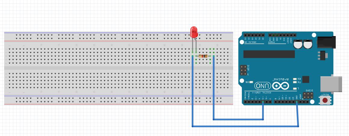 Arduino ile led yakma sanalkurs