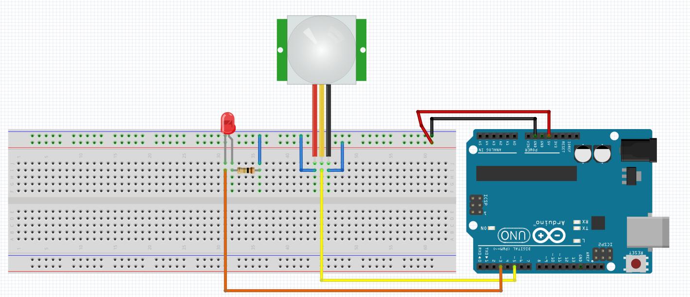 Arduino ile Ayarlanabilir IR Hareket Algılama Sensörü-PIR (HC-SR501) Kullanımı