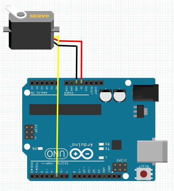 Arduino ile Micro Servo Motor Kullanımı