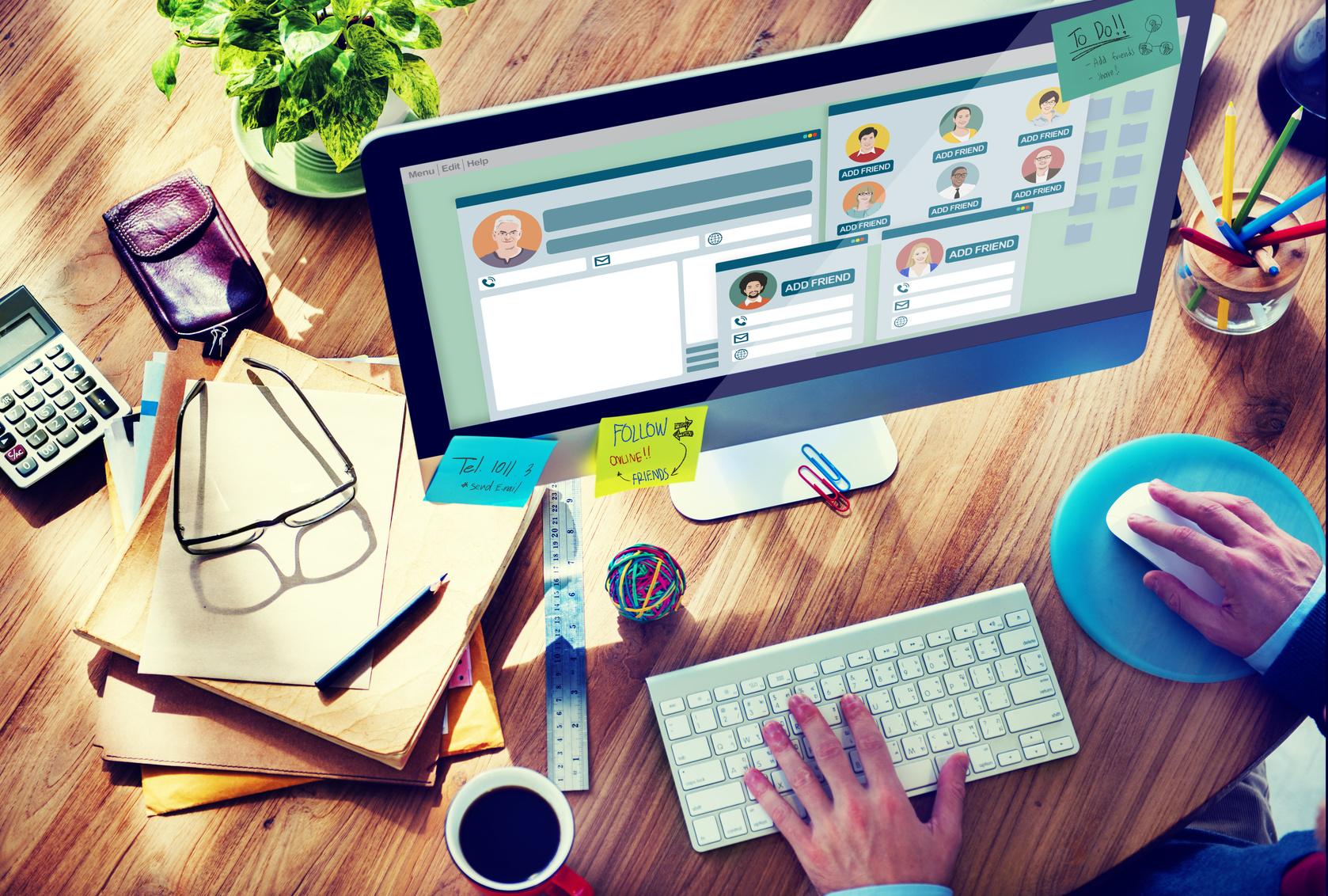 İnsanların İş İçin Sizi Kolayca Bulabilecekleri Sosyal Medya Profilleri Oluşturmak