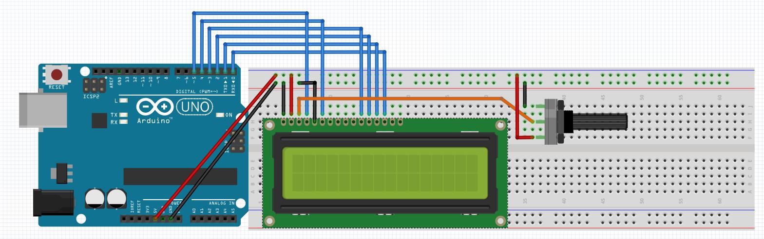 Arduino ile 16x2 LCD Ekran Kullanımı