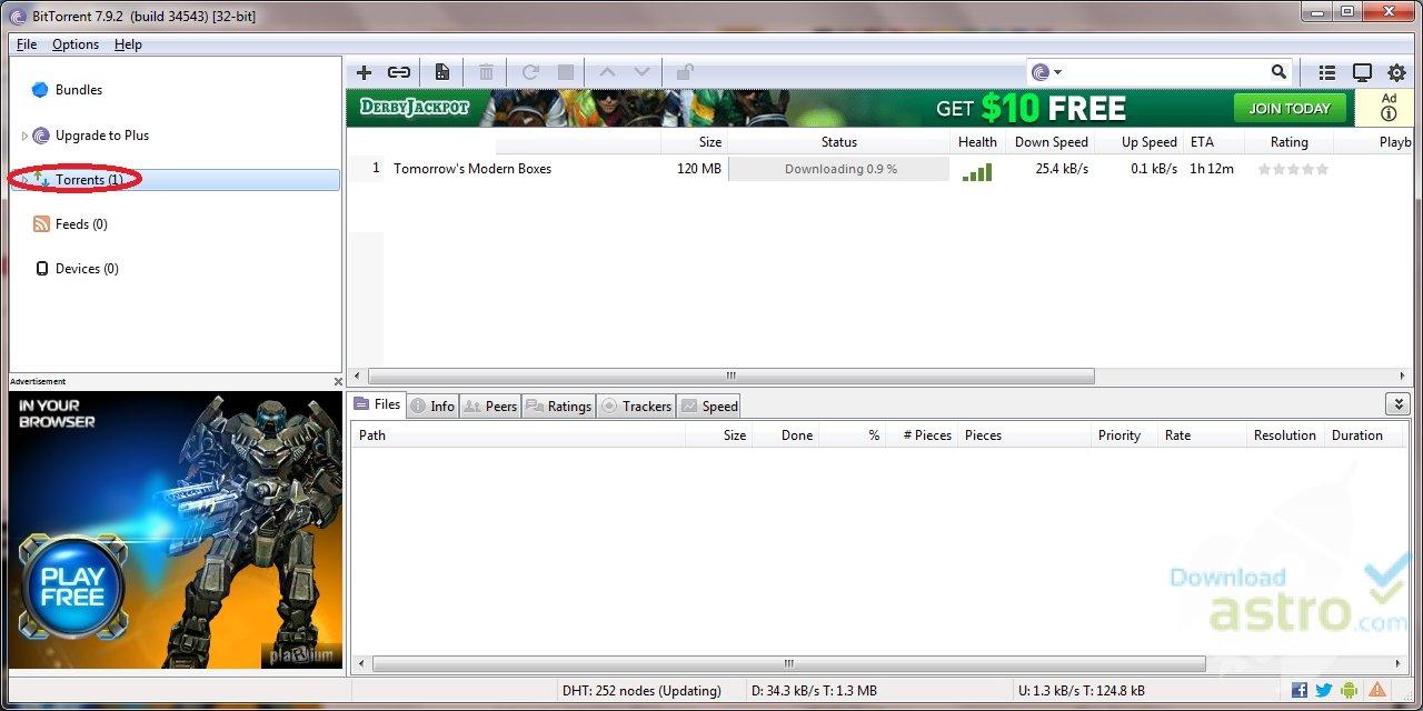 BitTorrent Dosya Paylaşım Uygulaması